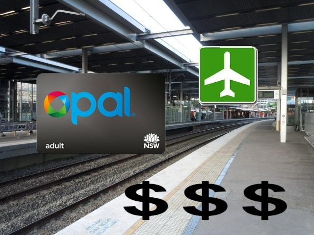 Sydney Airport Trains Terrible Price Gouging